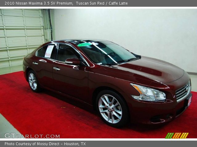 tuscan sun red 2010 nissan maxima 3 5 sv premium caffe. Black Bedroom Furniture Sets. Home Design Ideas