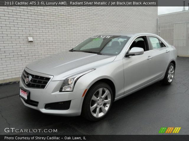 Radiant Silver Metallic - 2013 Cadillac ATS 3.6L Luxury ...