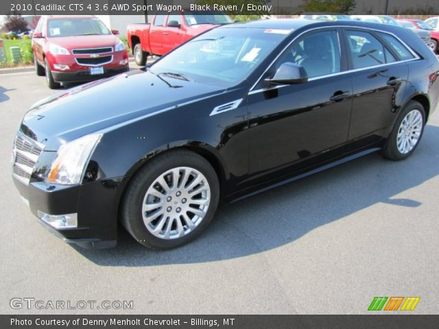 black raven 2010 cadillac cts 4 3 6 awd sport wagon. Black Bedroom Furniture Sets. Home Design Ideas