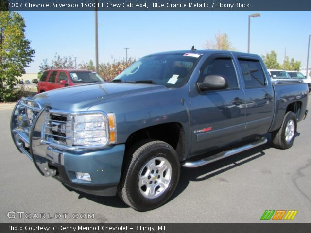 blue granite metallic chevrolet silverado 1500 lt crew cab 4x4 click. Cars Review. Best American Auto & Cars Review