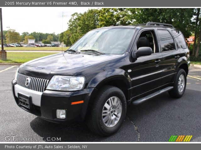 black 2005 mercury mariner v6 premier 4wd black. Black Bedroom Furniture Sets. Home Design Ideas