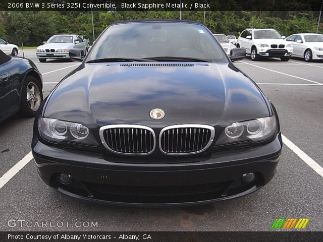 black sapphire metallic 2006 bmw 3 series 325i. Black Bedroom Furniture Sets. Home Design Ideas