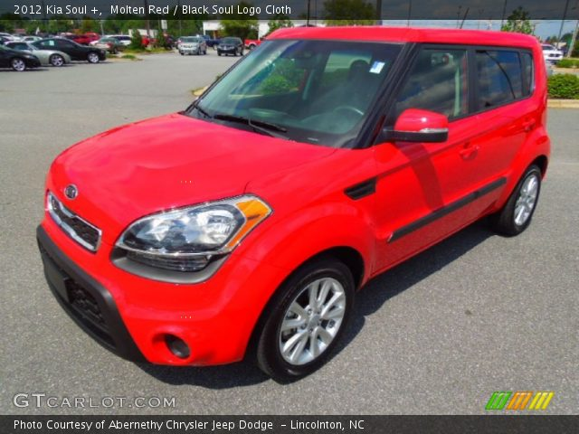 Molten red 2012 kia soul black soul logo cloth interior vehicle archive 2012 kia soul exterior colors