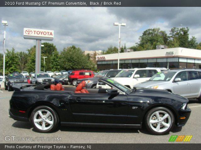 2010 ford mustang gt premium convertible in black - Ford Mustang Convertible 2010
