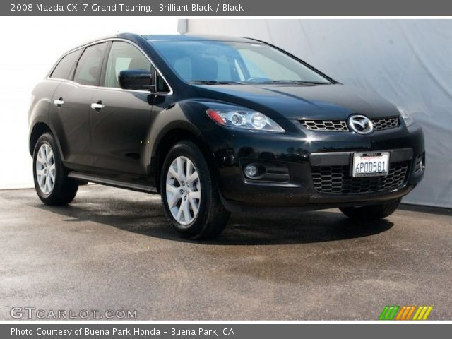 brilliant black 2008 mazda cx 7 grand touring black interior vehicle. Black Bedroom Furniture Sets. Home Design Ideas