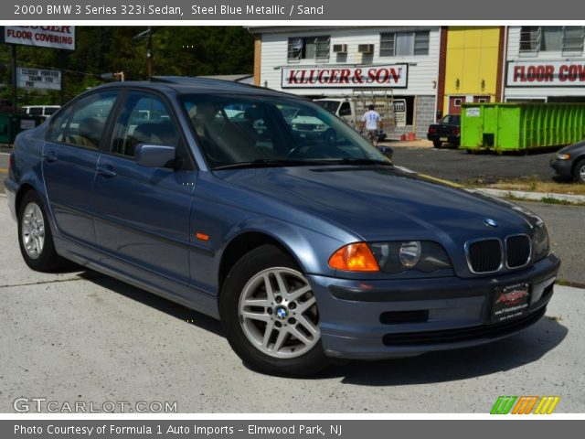 2000 BMW 3 Series 323i Sedan in Steel Blue Metallic