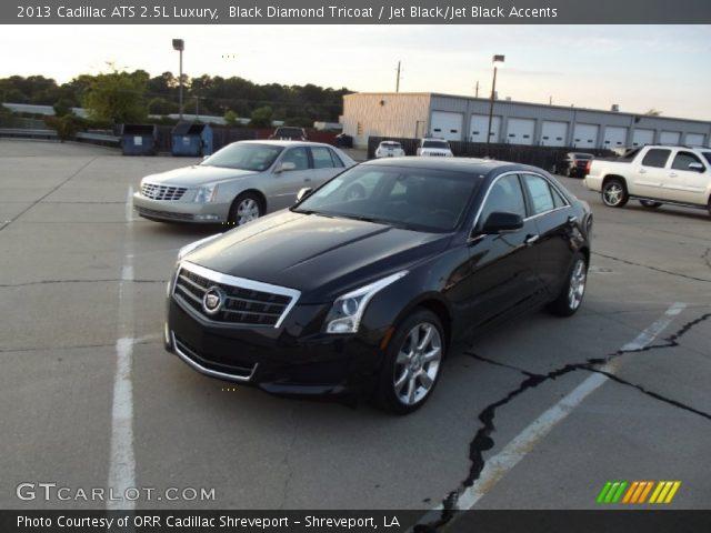 2013 Cadillac ATS 2.5L Luxury in Black Diamond Tricoat