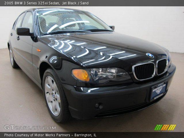 jet black 2005 bmw 3 series 325xi sedan sand interior vehicle archive 71193915. Black Bedroom Furniture Sets. Home Design Ideas