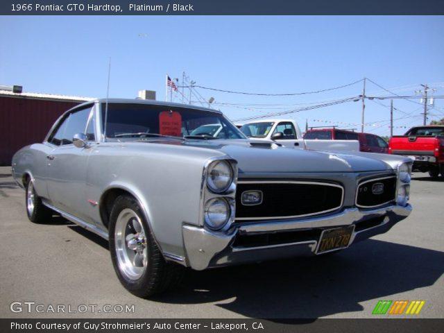 1966 Pontiac GTO Hardtop in Platinum