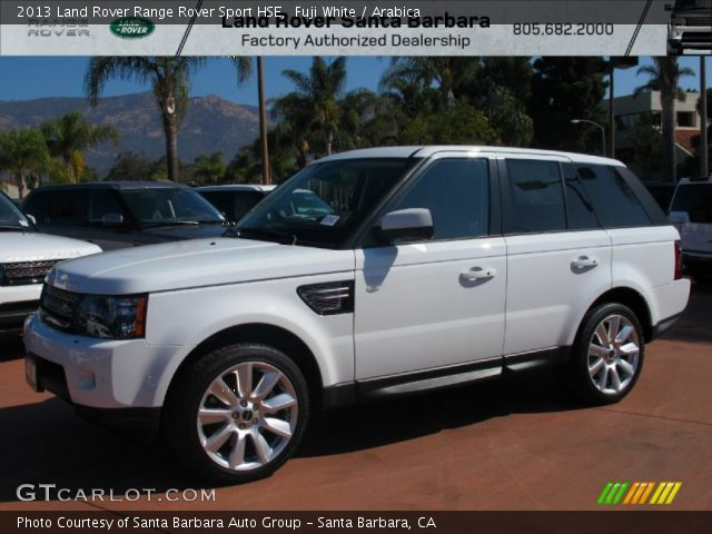 fuji white 2013 land rover range rover sport hse arabica interior vehicle. Black Bedroom Furniture Sets. Home Design Ideas