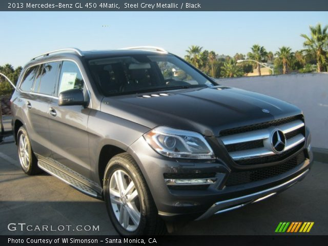 2013 Mercedes-Benz GL 450 4Matic in Steel Grey Metallic