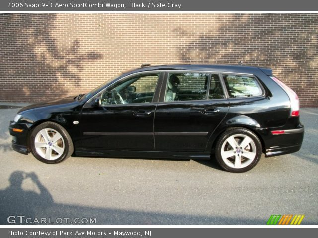 black 2006 saab 9 3 aero sportcombi wagon slate gray. Black Bedroom Furniture Sets. Home Design Ideas