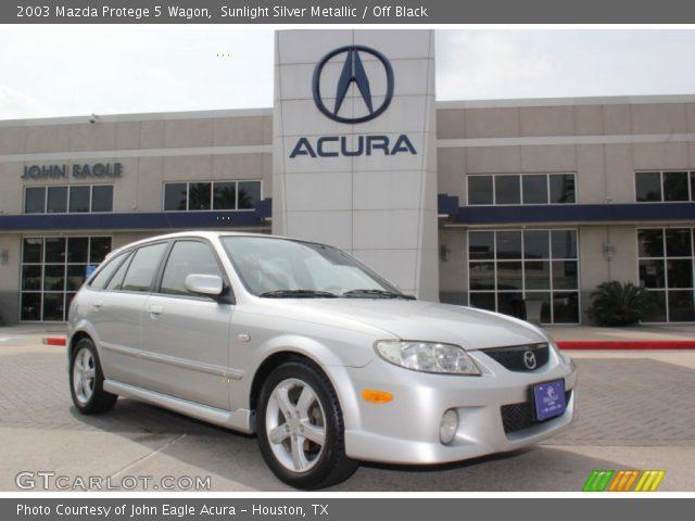 2003 Mazda Protege 5 Wagon in Sunlight Silver Metallic