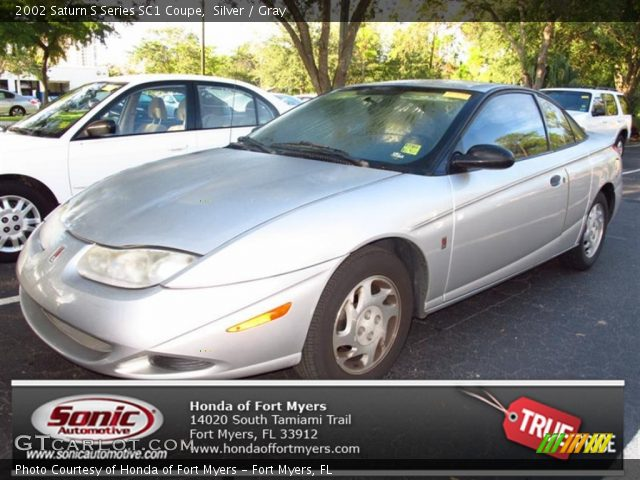 silver 2002 saturn s series sc1 coupe gray interior vehicle archive 71434423. Black Bedroom Furniture Sets. Home Design Ideas