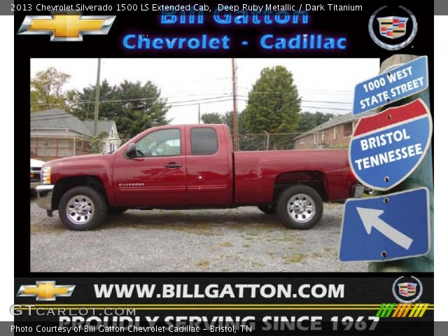 2013 Chevrolet Silverado 1500 LS Extended Cab in Deep Ruby Metallic