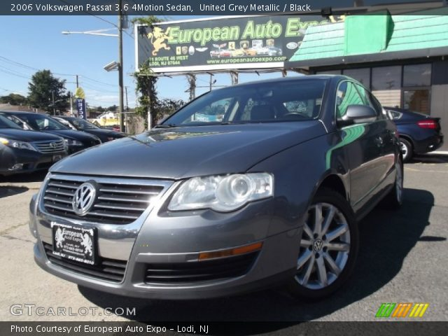 united grey metallic 2006 volkswagen passat 3 6 4motion. Black Bedroom Furniture Sets. Home Design Ideas