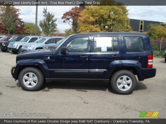 2012 jeep liberty sport 4x4 in true blue pearl click to see large. Black Bedroom Furniture Sets. Home Design Ideas