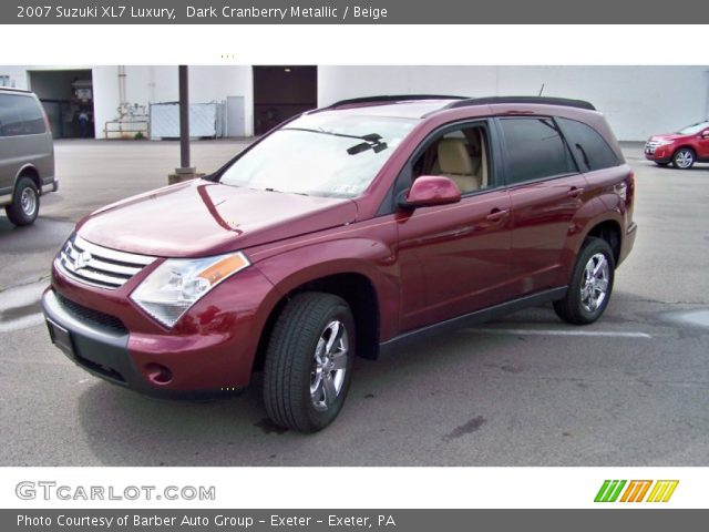 2007 Suzuki XL7 Luxury in Dark Cranberry Metallic