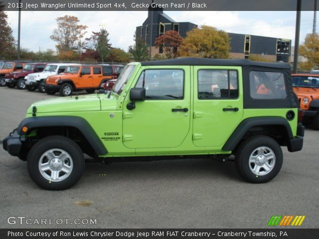 2013 jeep wrangler unlimited green for sale gecko autos post. Black Bedroom Furniture Sets. Home Design Ideas