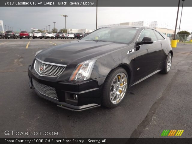 black raven 2013 cadillac cts v coupe ebony interior. Black Bedroom Furniture Sets. Home Design Ideas