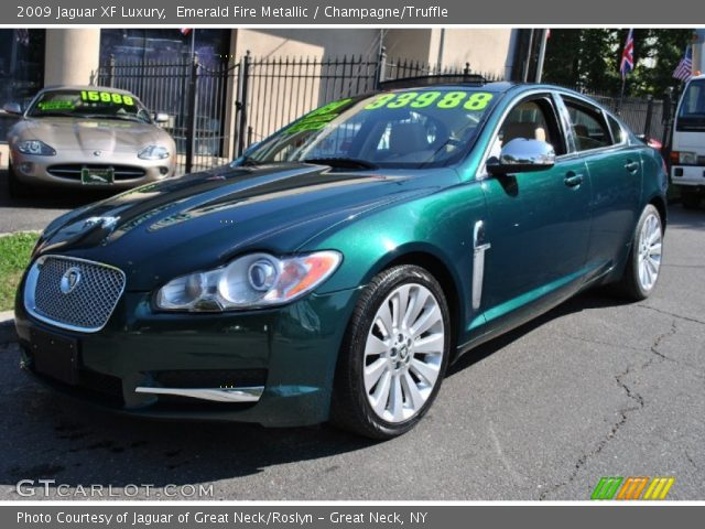 Jaguar Emerald Fire in Emerald Fire Metallic