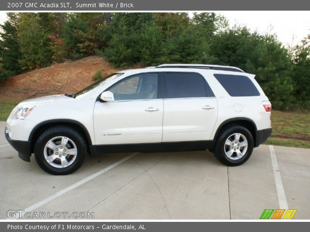 2007 GMC Acadia SLT in Summit White