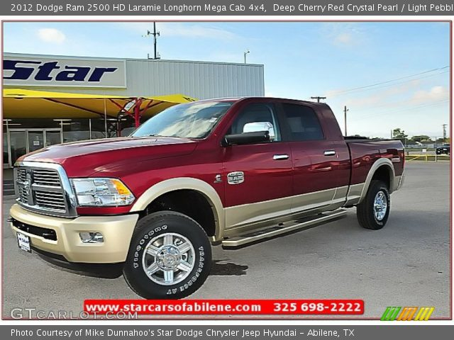 Deep cherry red crystal pearl 2012 dodge ram 2500 hd - Dodge ram 2500 laramie longhorn interior ...
