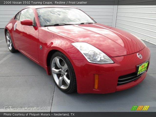 redline 2006 nissan 350z touring coupe frost leather. Black Bedroom Furniture Sets. Home Design Ideas