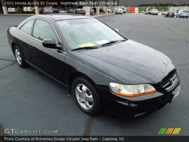 2001 Honda Accord EX Coupe in Nighthawk Black Pearl. Click to see ...