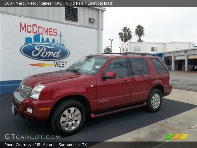 2007 Mercury Mountaineer AWD in Vivid Red