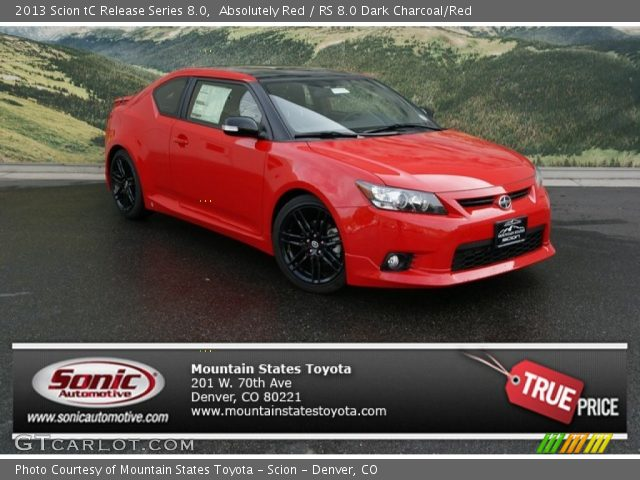 2013 Scion tC Release Series 8.0 in Absolutely Red