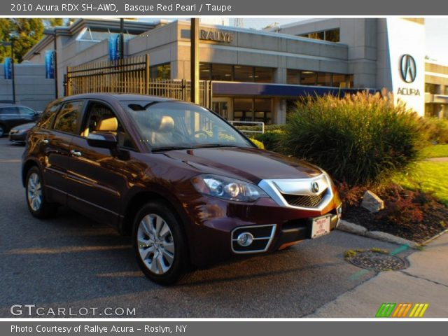 Basque Red Pearl - 2010 Acura RDX SH-AWD - Taupe Interior | GTCarLot ...
