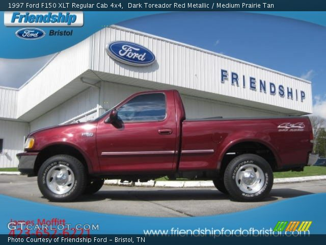 Dark toreador red metallic 1997 ford f150 xlt extended cab 4x4 pictures to pin on pinterest