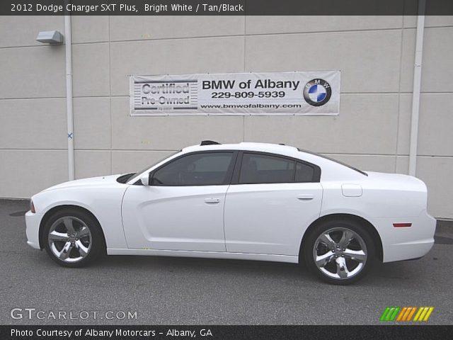 bright white 2012 dodge charger sxt plus tan black interior vehicle archive. Black Bedroom Furniture Sets. Home Design Ideas