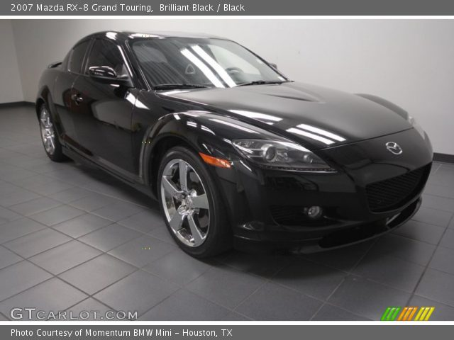 brilliant black 2007 mazda rx 8 grand touring black interior vehicle. Black Bedroom Furniture Sets. Home Design Ideas
