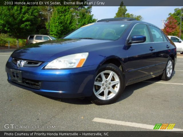 2003 Honda Accord EX V6 Sedan in Eternal Blue Pearl