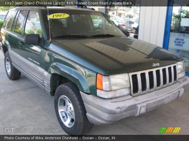 Forest green pearl 1997 jeep grand cherokee laredo 4x4 - 1997 jeep grand cherokee interior ...