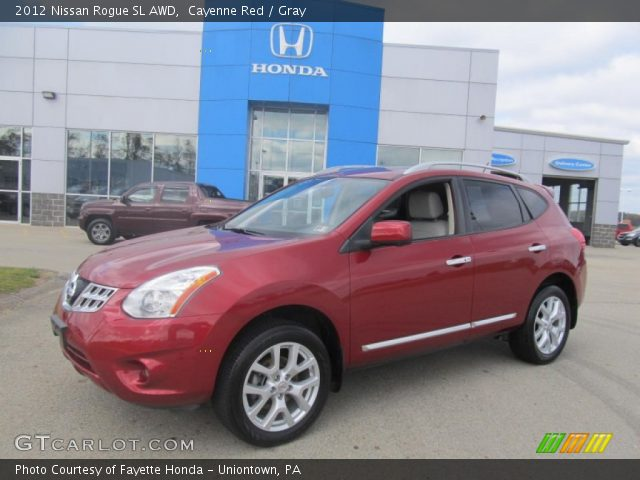 Cayenne red 2012 nissan rogue sl awd gray interior - 2012 nissan rogue exterior colors ...