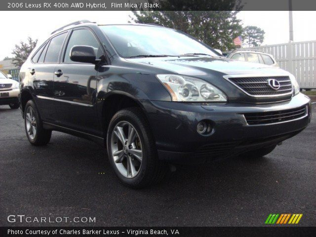 flint mica 2006 lexus rx 400h awd hybrid black. Black Bedroom Furniture Sets. Home Design Ideas
