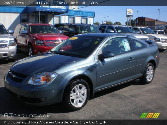 blue granite metallic 2007 chevrolet cobalt lt coupe. Black Bedroom Furniture Sets. Home Design Ideas