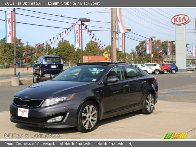 platinum graphite 2011 kia optima sx black sport. Black Bedroom Furniture Sets. Home Design Ideas