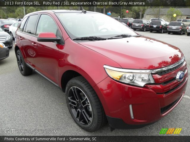 2013 Ford Edge SEL in Ruby Red
