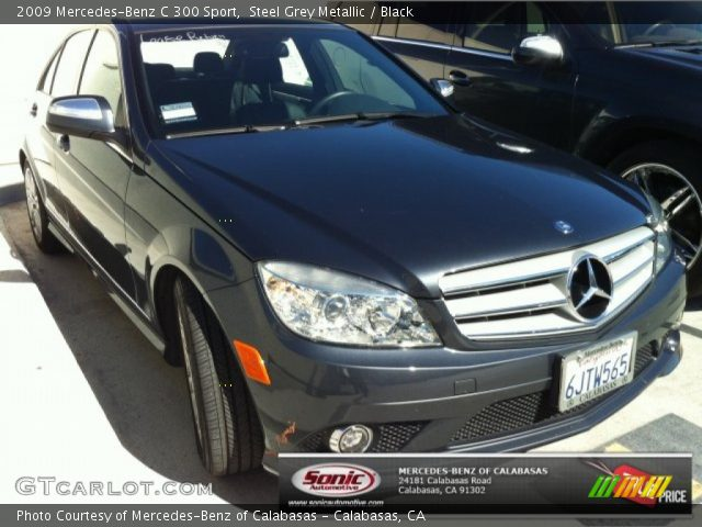 Steel grey metallic 2009 mercedes benz c 300 sport for 2009 mercedes benz c 300