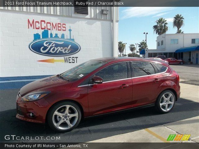 2013 ford focus titanium hatchback in ruby red - Ford Focus 2014 Hatchback Titanium