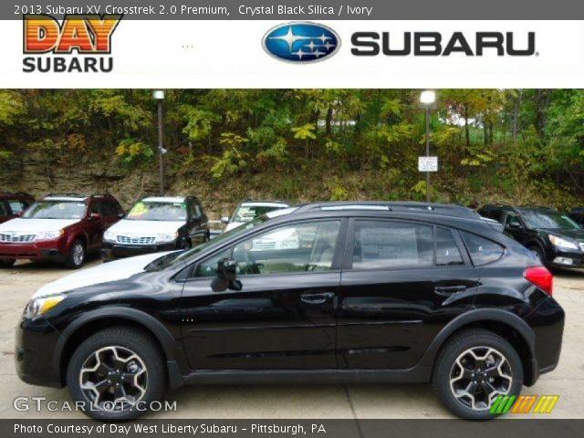 2013 Subaru XV Crosstrek 2.0 Premium in Crystal Black Silica