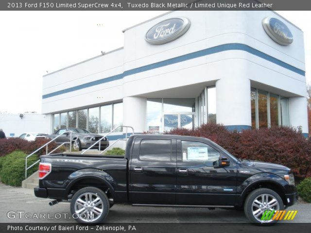 2013 Ford F150 Limited SuperCrew 4x4 in Tuxedo Black Metallic