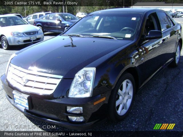 2005 Cadillac STS V8 in Black Raven