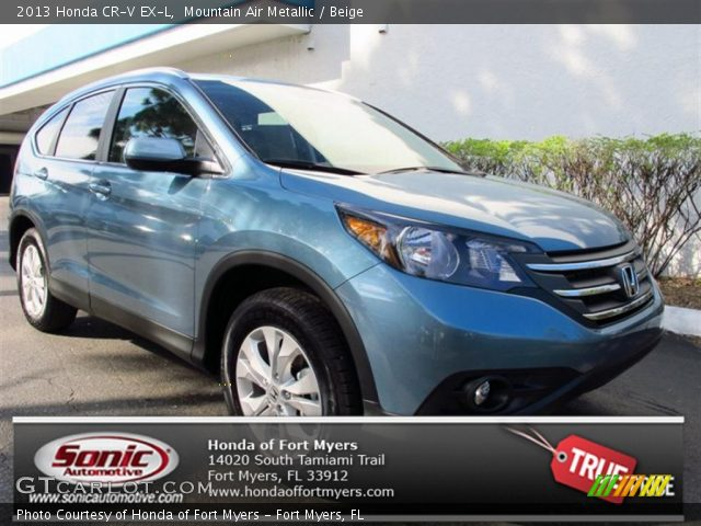2013 Honda CR-V EX-L in Mountain Air Metallic