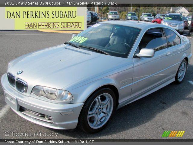 2001 BMW 3 Series 330i Coupe in Titanium Silver Metallic