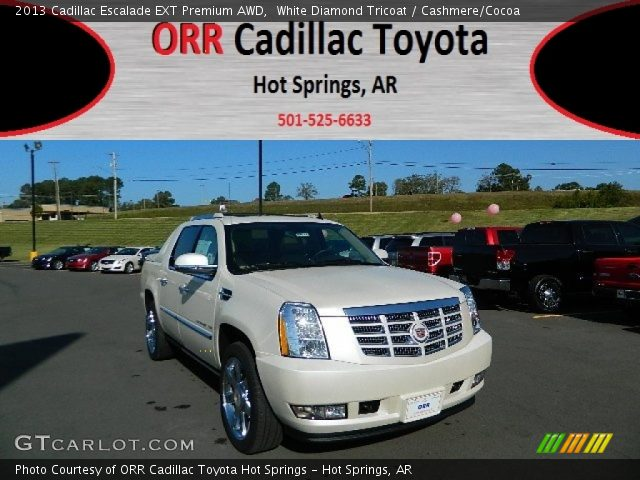 2013 Cadillac Escalade EXT Premium AWD in White Diamond Tricoat